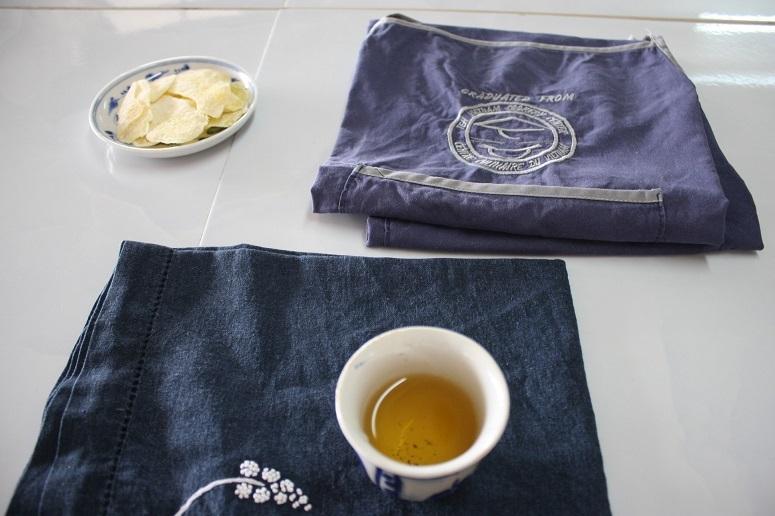 レッスン前のお茶とお茶菓子