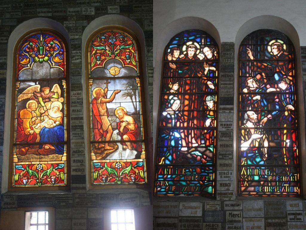 サイゴン大教会のステンドグラス
