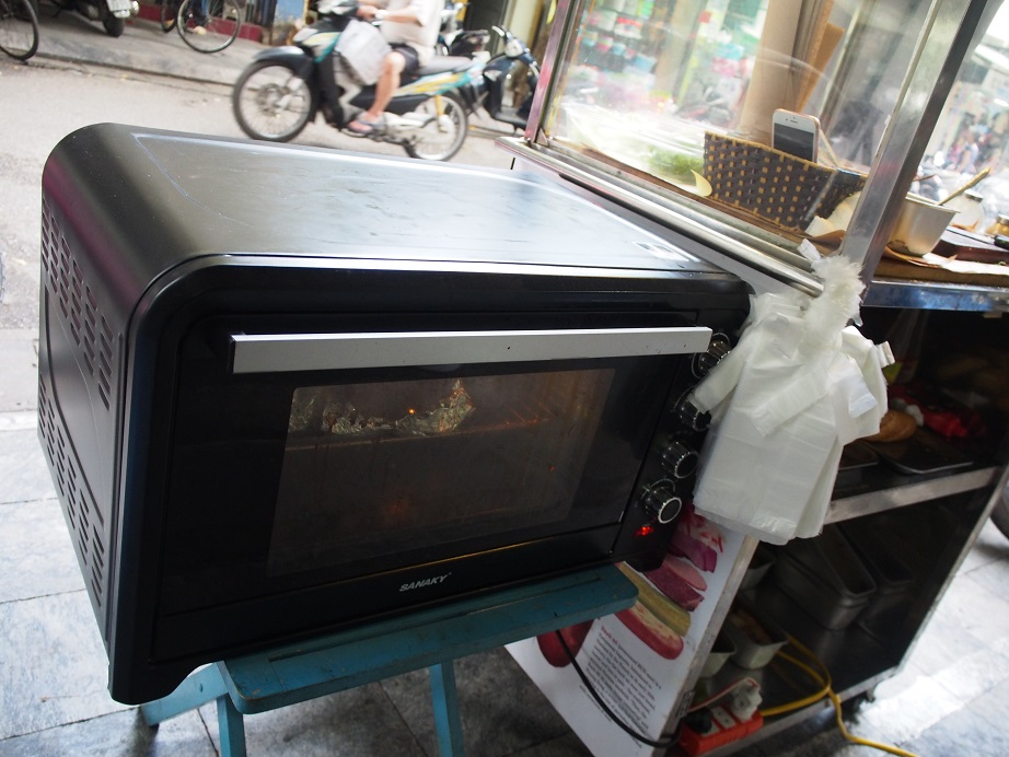 「BANH MI 25」のオーブン