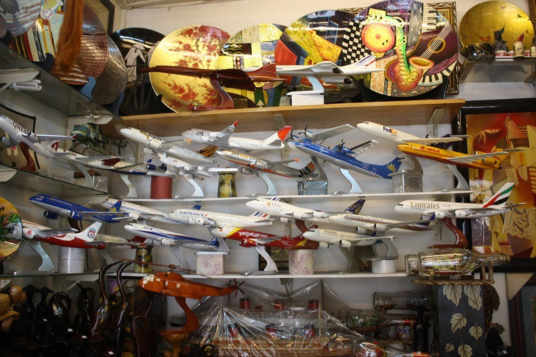 世界各国の航空機模型