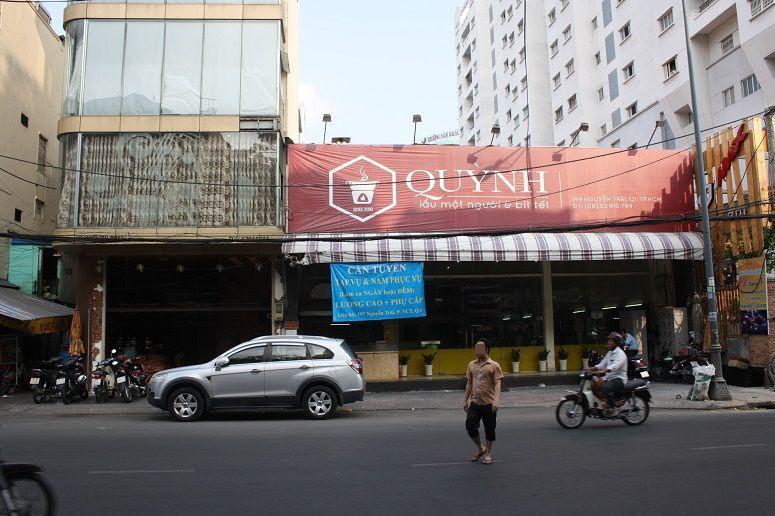 QUYNHのカフェとステーキ店