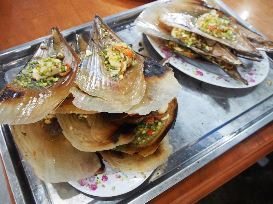 「Quan Be Man」の貝料理