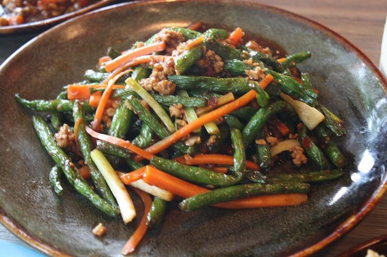 虾米酱炒四季豆