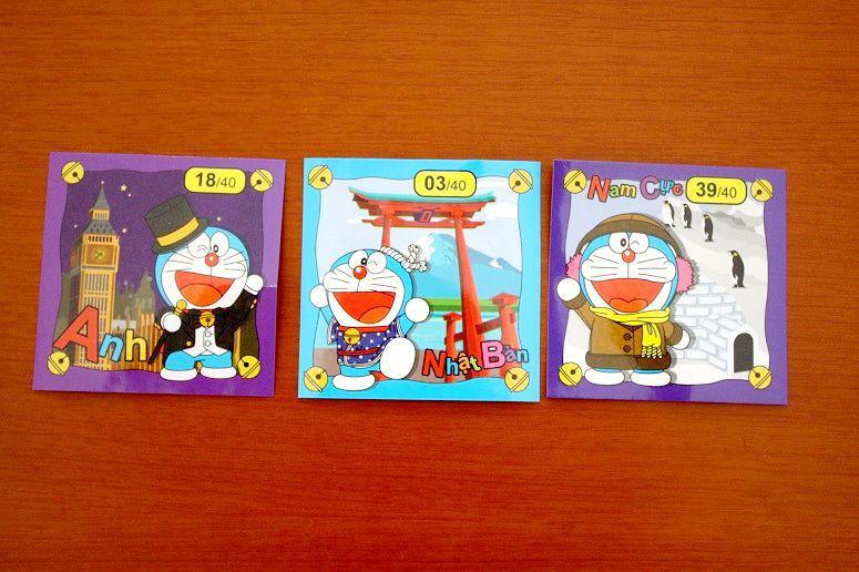 Mi Doraemonのおまけシール