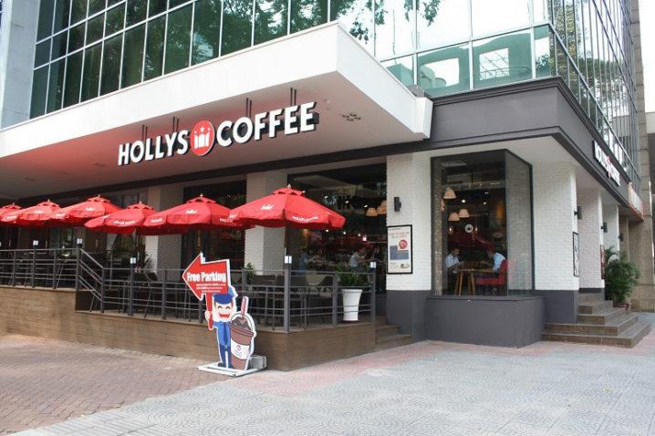 「HOLLYS COFFEE」