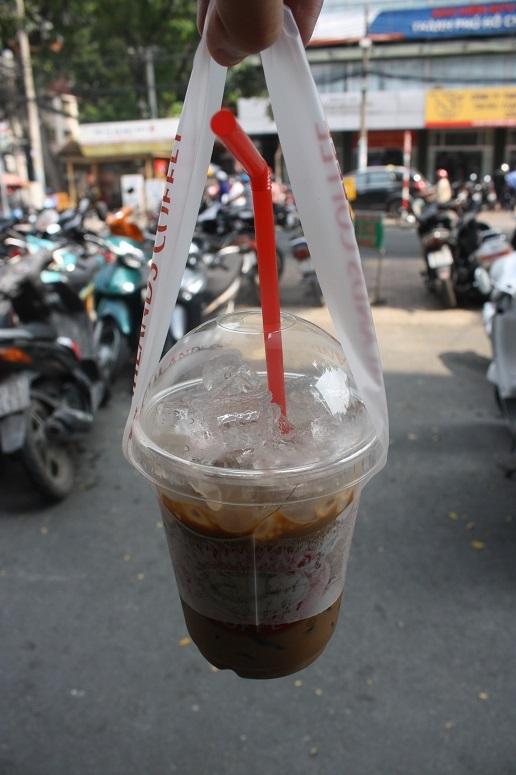 ベトナムコーヒーのTake away