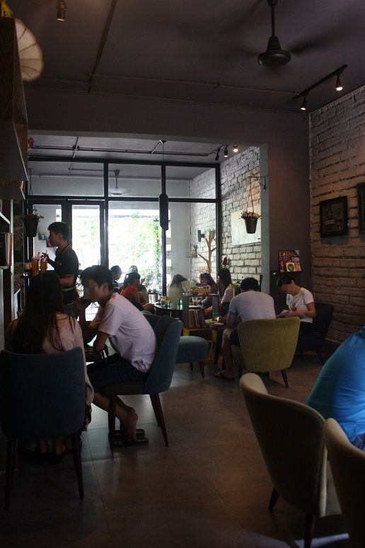 story m cafe店内
