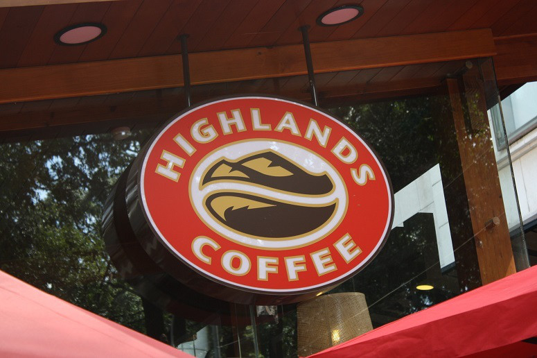 HIGHLANDS COFFEEの新ロゴ