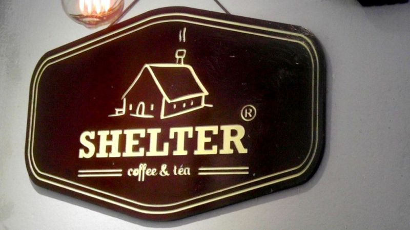 「SHELTER coffee & tea」