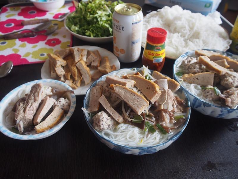 チャークエ+麺