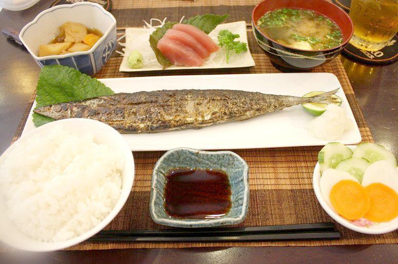 「ますお」の定食