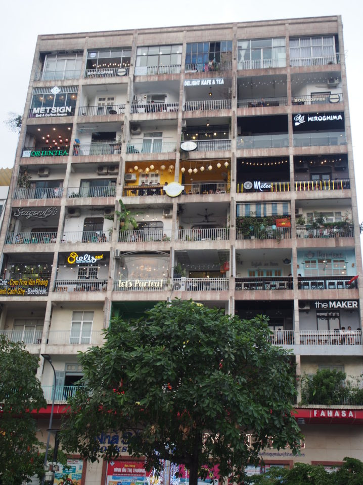 グエンフエ通り42番地のアパート