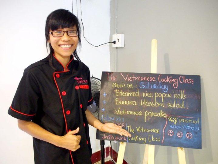 ベトナム料理教室「The Vietnamese COOKING CLASS」~教室紹介編~