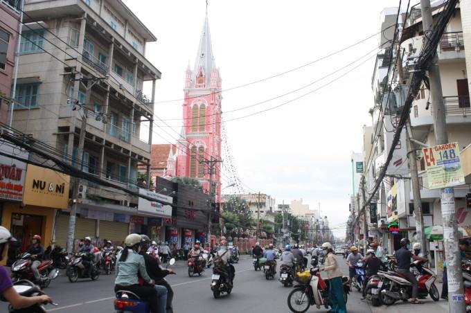 タンディン教会(Nha tho Tan Dinh)