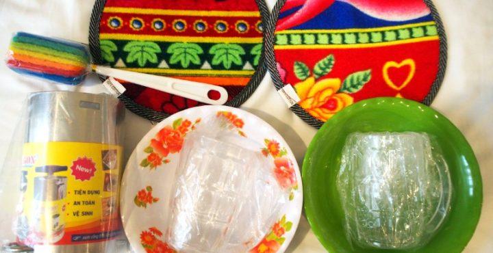 バーチウ市場にベトナムハムの型を買いに行くの巻。