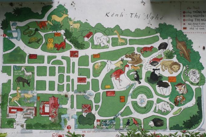 サイゴン動植物園(Thảo Cầm Viên Sài Gòn)