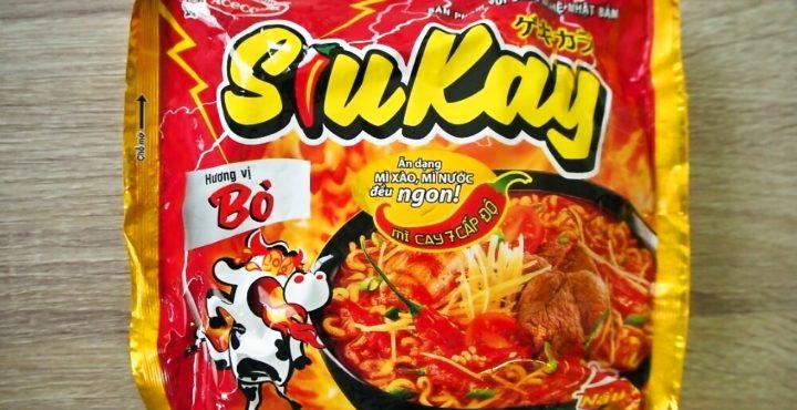 【ベトナム・インスタント麺図鑑】~第33回 Siu Kay(ゲキカラ)~