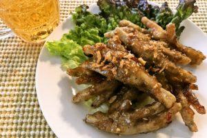 【レシピ付】おつまみに!鶏足(もみじ)のヌックマム炒め