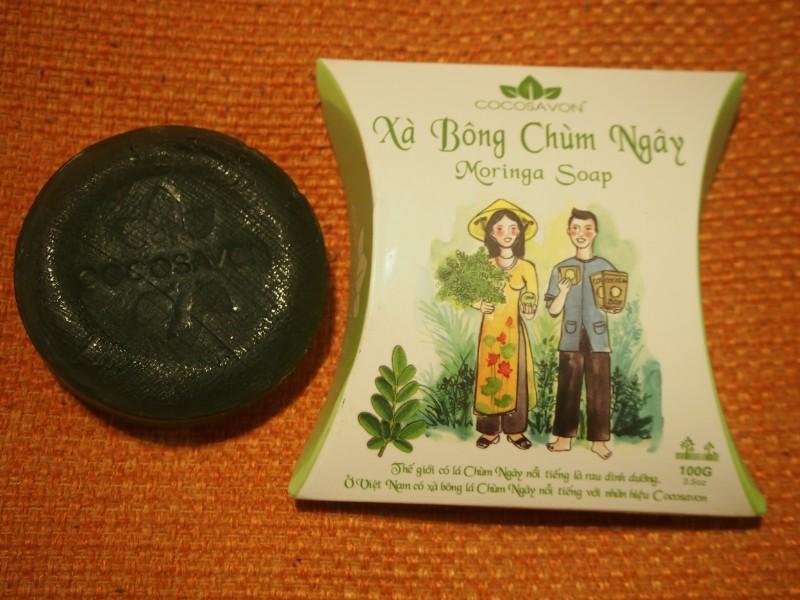 南国の天然素材使用☆ベトナムで購入したナチュラルソープ5個