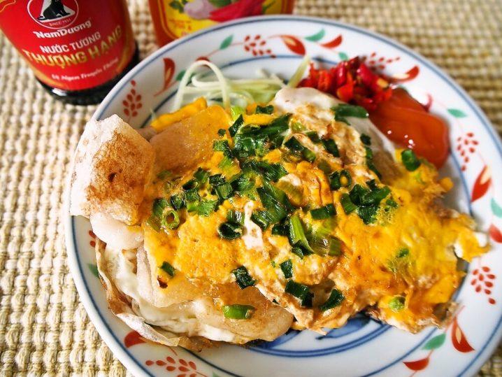 揚げ餅の卵とじ・ボッチン(Bột chiên)を作ってみよう♪
