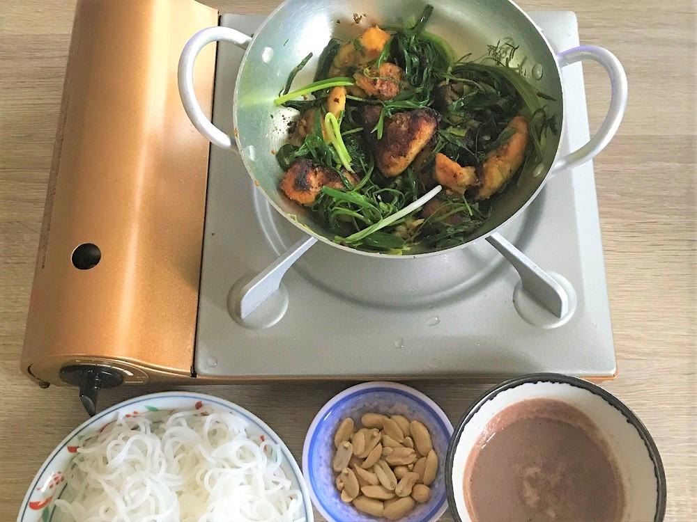 【レシピ付】ハノイ名物☆白身魚とディルの油鍋・チャーカーラヴォンを作ろう♪