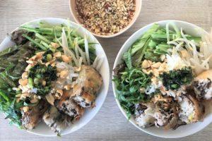 【レシピ付】揚げ春巻き入り和え麺「ブンチャーゾー」を作ろう♪