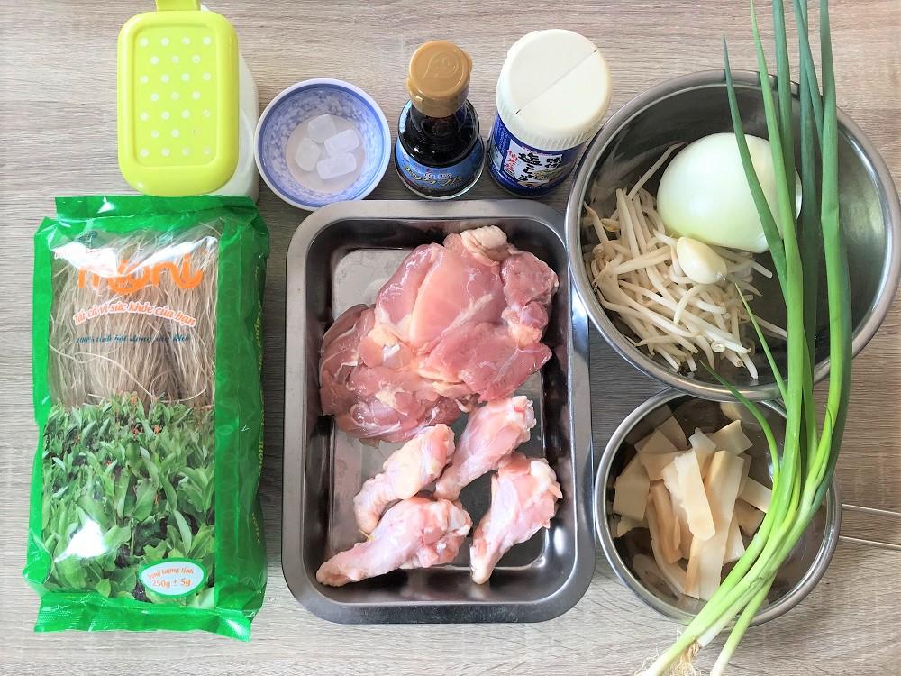 【レシピ付】鶏肉とたけのこのスープ春雨「ミエン・マン・ガー」を作ろう♪