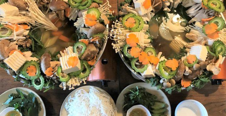 【愛知のベトナム料理教室②】「ダラット・マリムラ」できのこ鍋・海鮮焼き・かぼちゃのチェーを習ってきました。
